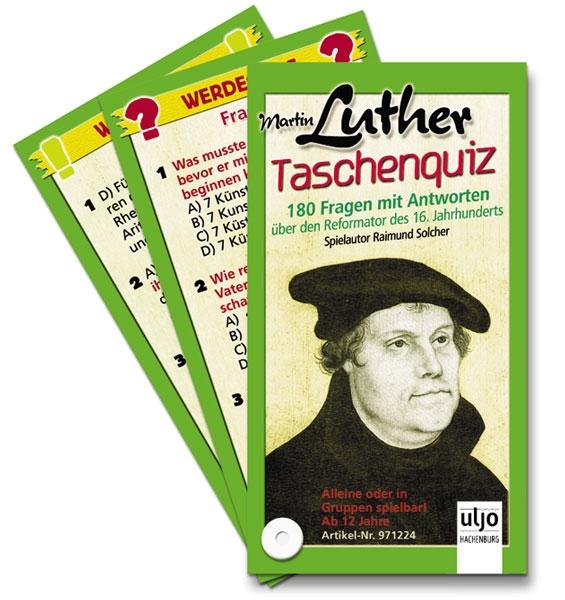 Taschenquiz - Martin Luther