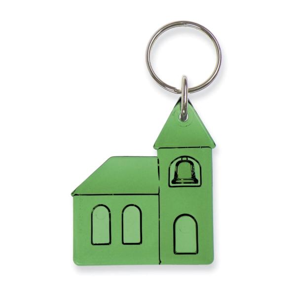Schlüsselanhänger Kirche