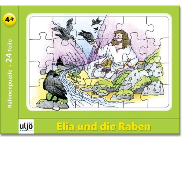 Rahmenpuzzle - Elia und die Raben