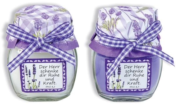Duftkerze - Lavendel
