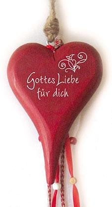 Türschild - Herz