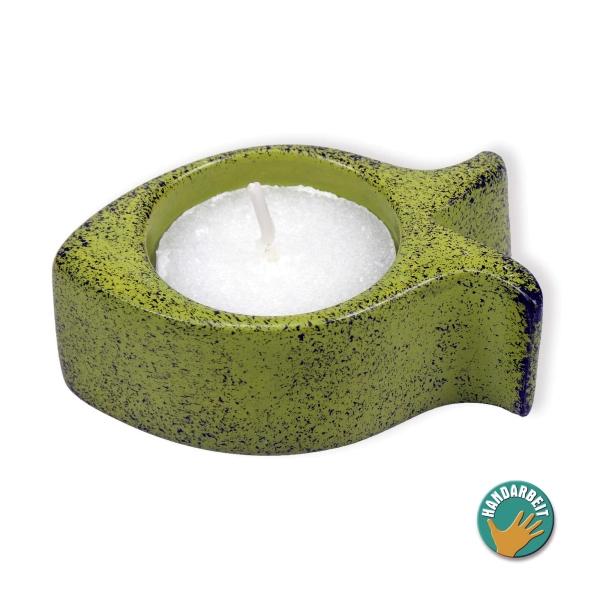 Teelichthalter - Fisch - Speckstein