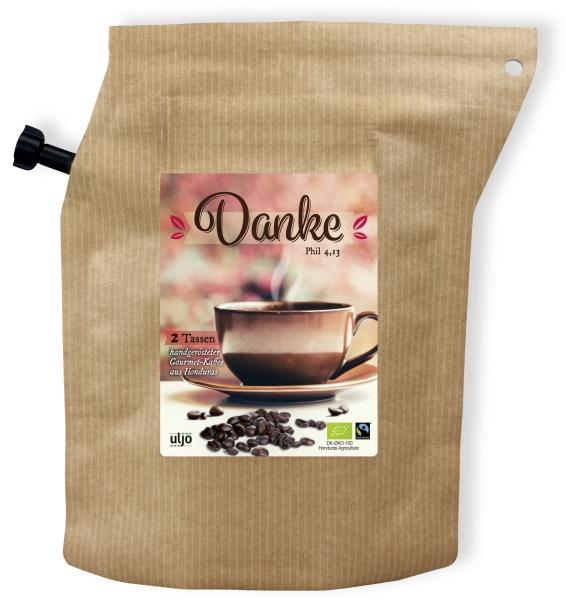 Kaffeebeutel zum Mitnehmen
