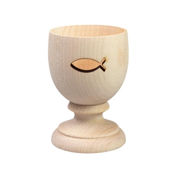 Eierbecher aus Holz - Ichthys