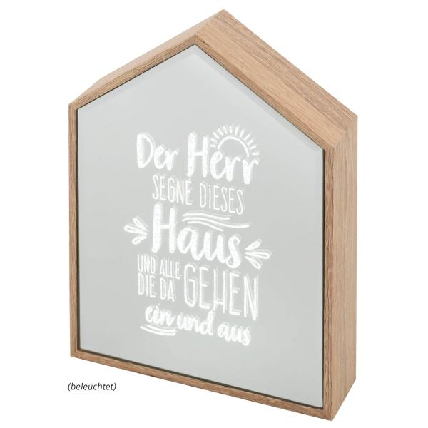 Leucht-Haus - Haussegen