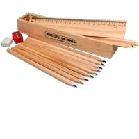 Buntstifte-Set in Holzbox