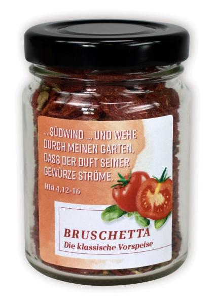 Bruschetta - Tomate/Basilikum