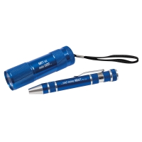 Set Multifunktionswerkzeug und LED-Taschenlampe