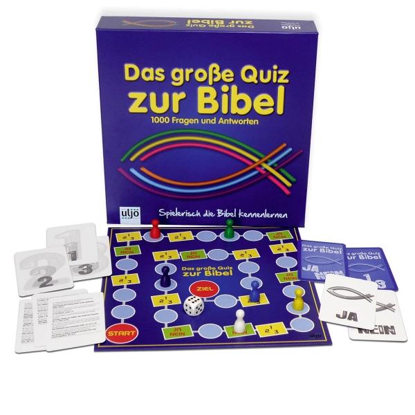 Gesellschaftsspiel - Das große Quiz zur Bibel