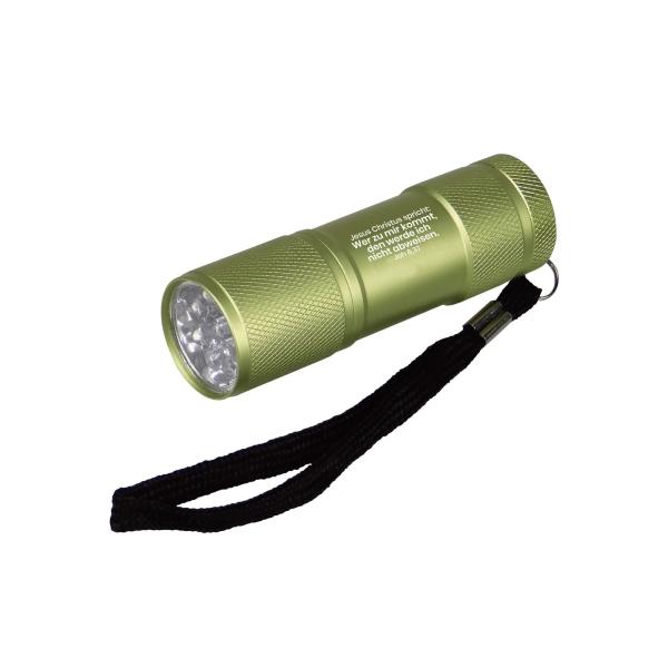 LED-Taschenlampe - Jahreslosung 2022