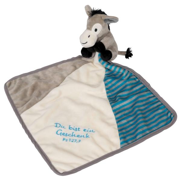 Schnuffeltuch - Esel Felix