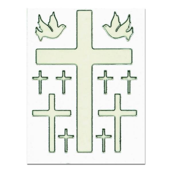 Aufkleber-Set - Kreuz