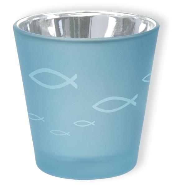 Votivglas - Fische