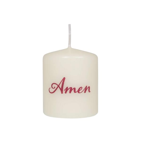 Kerze - Amen