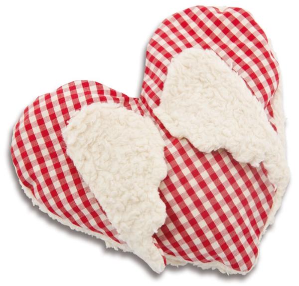 Kirschkernwärmekissen - Herz