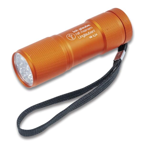 LED-Taschenlampe - Jahreslosung 2020