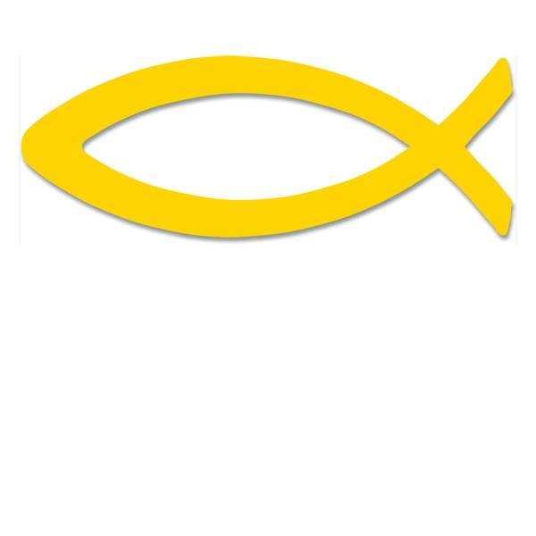 Aufkleber - Fisch