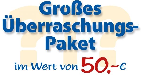 Aktions-Paket - Überraschung 50,-€