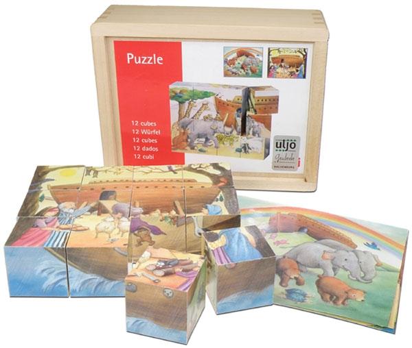 Würfelpuzzle - Arche Noah