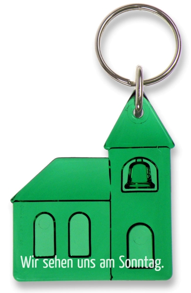 Schlüsselanhänger - Kirche