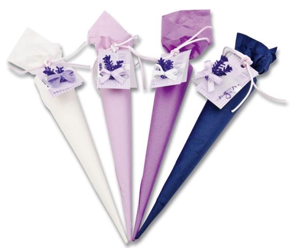 Lavendel-Badesalz-Tüte
