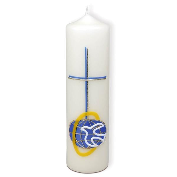Kerze - Friede für die Welt