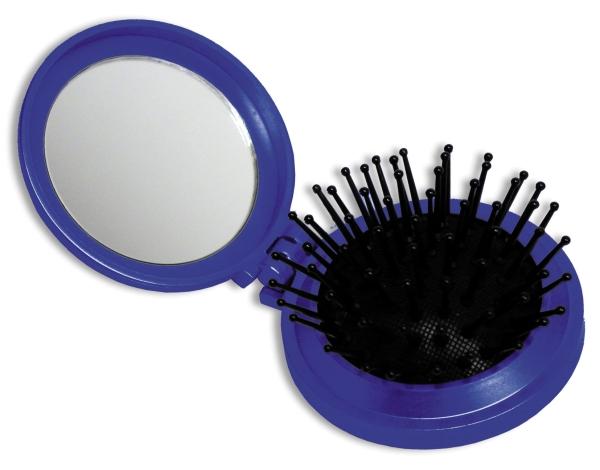 Haarbürste mit Spiegel