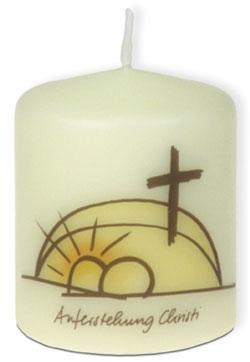 Kerze Auferstehung Christi