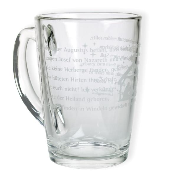 Teeglas - Weihnachtsgeschichte