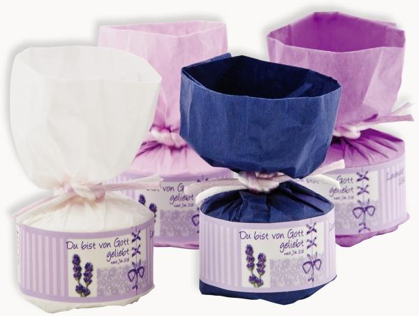 Lavendel-Badetablette