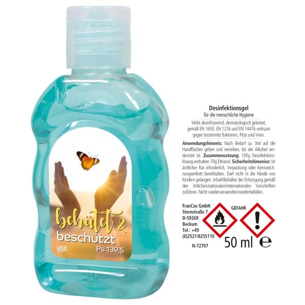 Desinfektionsgel - 50 ml