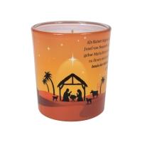 Duftkerzenglas - Weihnachtsgeschichte