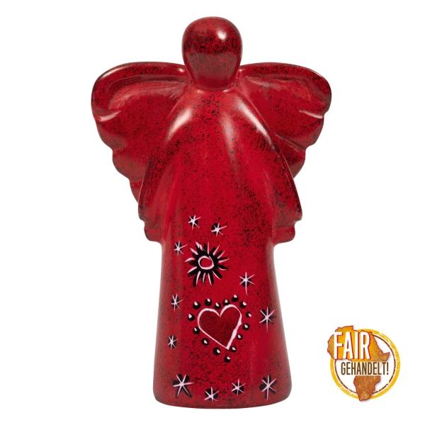 Figur Schutzengel groß - Herz