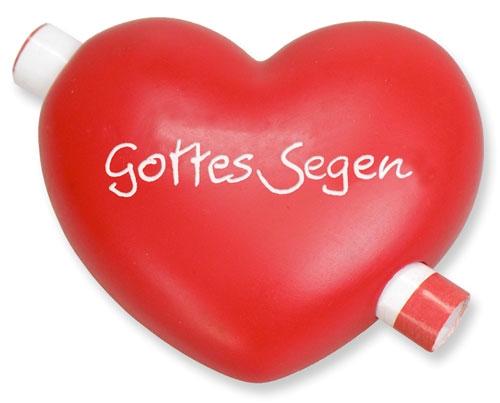 Gutschein-Herz - Gottes Segen
