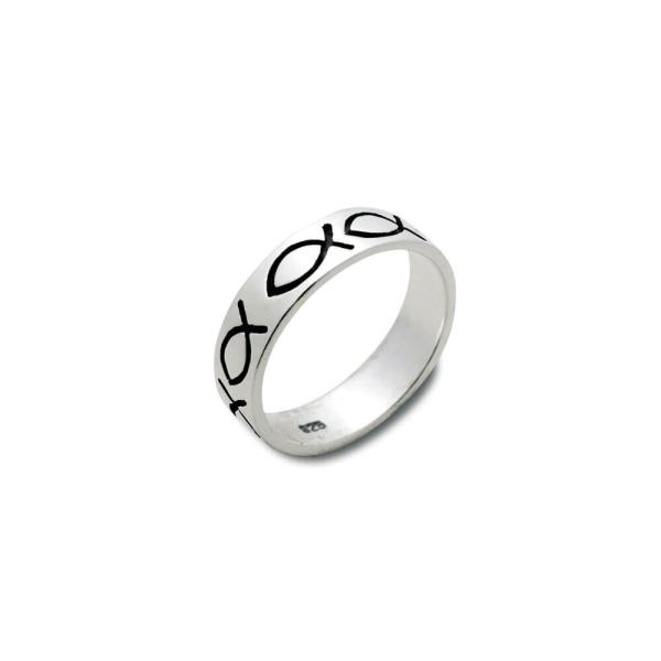 Ring Fische Sterlingsilber