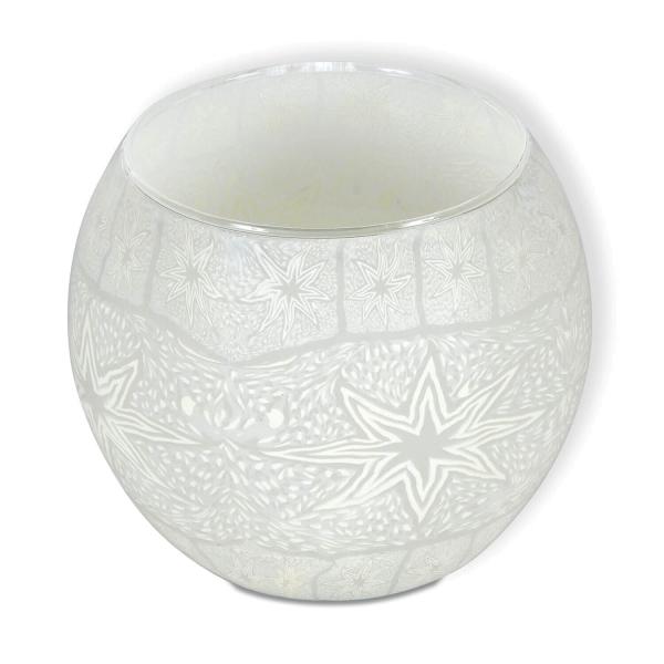 Leuchtglas - Sterne, 8 cm